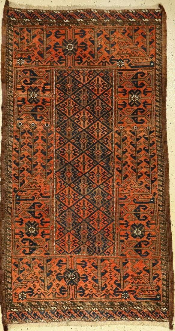 Baluch old, Persia, around 1920, wool on wool,approx.