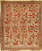 Antique Khamseh, Persia, late 19th century, wool on