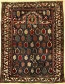 Fine Marasali prayer rug, antique, Caucasus, 19th