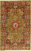 Very fine green Tabriz 70 RAJ  Persia around 1930