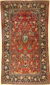 Kashan old Persia around 1940 wool approx228 x 127