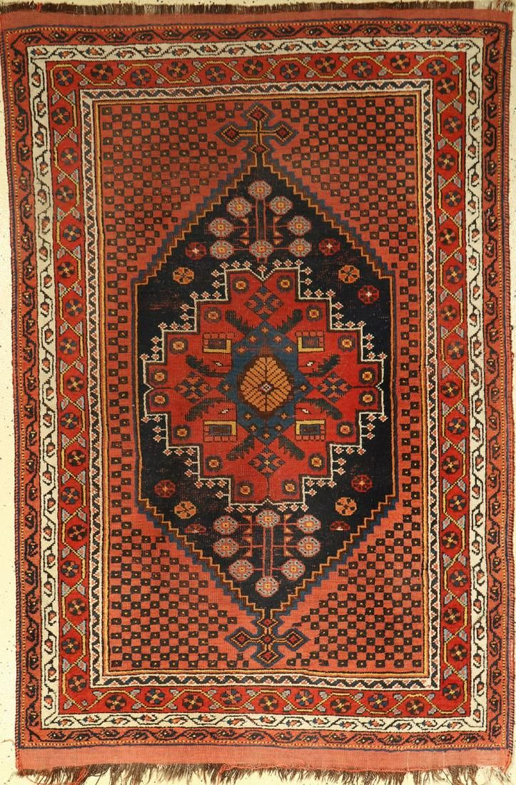 Sirjan-Afshar old, Persia, around 1930, wool on wool