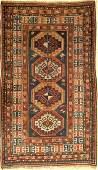Kazak Memling Gul Rug antique, Caucasus, around 1900
