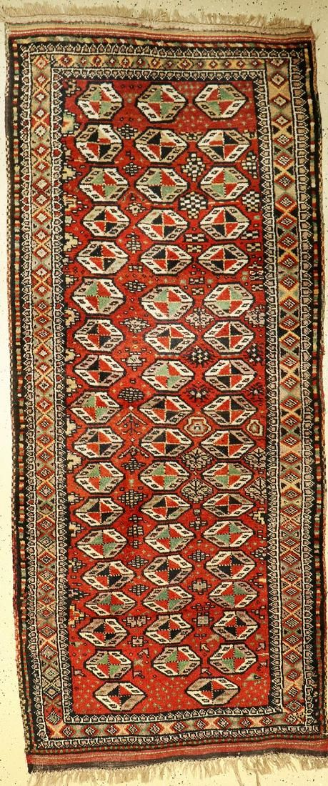 Kordi old, Persia, around 1920, wool on wool, approx.