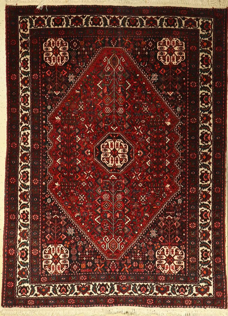 Abadeh, Persia, approx. 60 years, wool on cotton