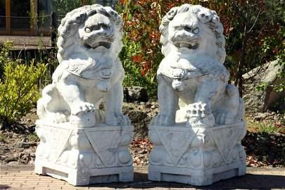 Guardian Lion, China, modeled on Ming