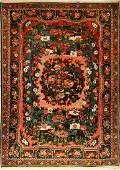 Bachtiar old Golfarang Persia around 1940wool on