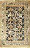 Nain, Persia, approx. 50 years, wool with silk