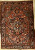 Heriz old, Persia, around 1920, wool on cotton
