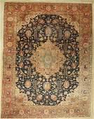 Tabriz old Persia around 1920 wool on cotton