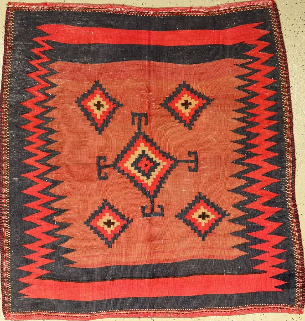 Afshar Ru Korsi, Persia, approx. 60 years, wool on