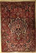 Bakhtiar old Persia approx 50 years wool on cotton