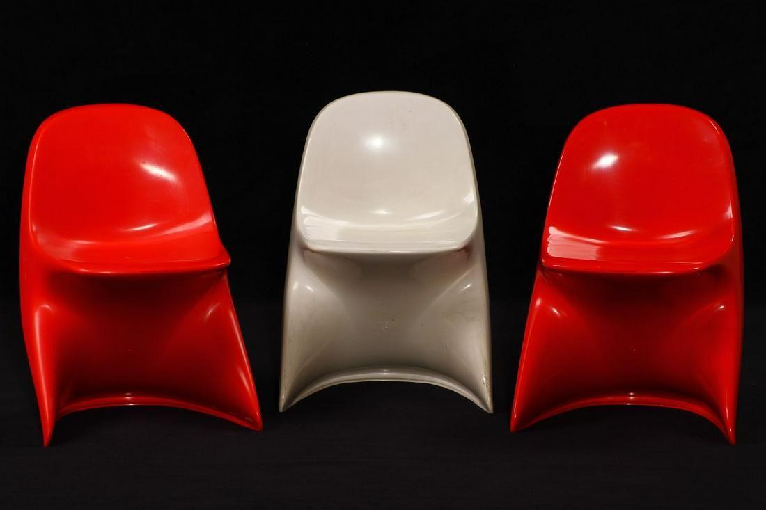 Set of 3 children's chairs 'Casalino I'