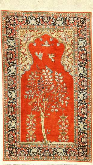 Kaisery silk, Turkey, approx. 40 years, pure natural