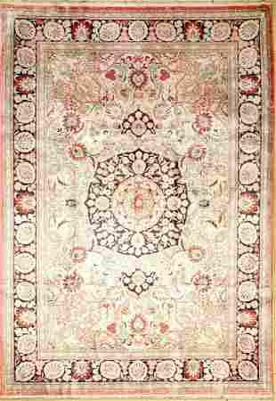 China silk, approx. 40 years, pure natural silk