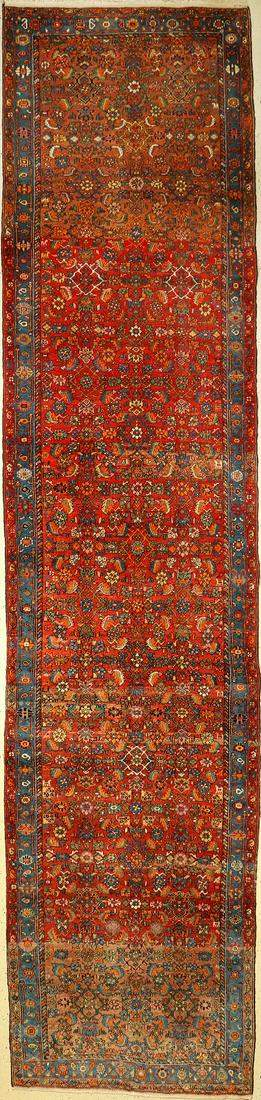 Bidjar Persia approx 40 years wool on cotton