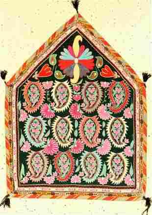 Lakai 'Embroidery' old, Uzbekistan, around 1930/1940