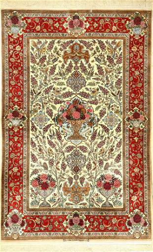 Fine Esfahan 'Tochiany' (signed), Persia, approx
