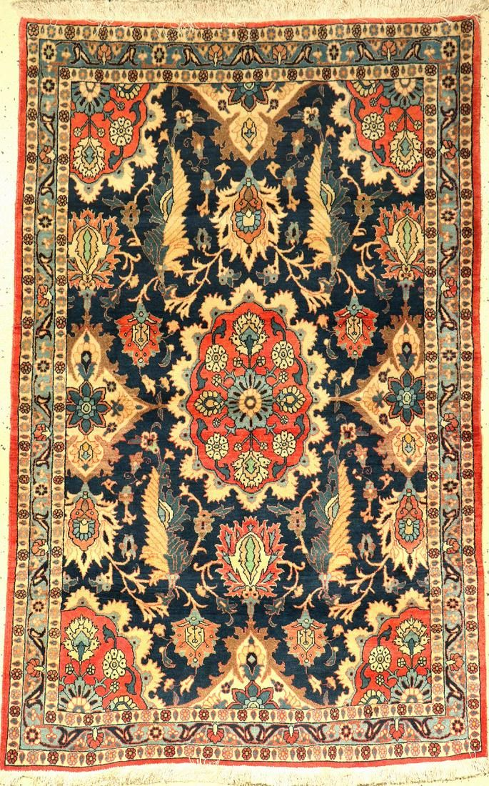 Veramin old, Persia, approx. 60 years, wool oncotton