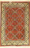 Fine Qom silk, Persia, approx. 40 years, pure natural