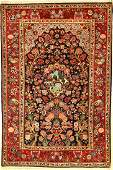 Keschan old Persia around 1940 wool approx 210
