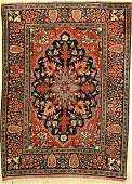 Mehraban fine old Persia around 1930 wool on cotton