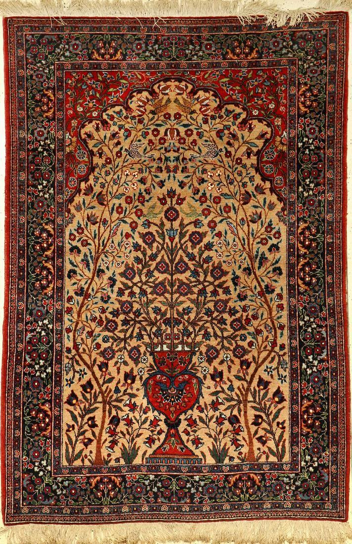 Kermanshah rug, Persia, around 1920, wool on cotton