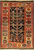 Rare luri rug old, Persia, around 1930, wool on wool