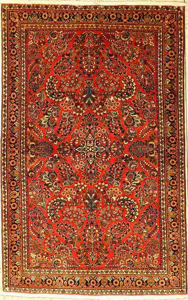 Fine Saruk rug old, Persia, around 1940/1950, wool
