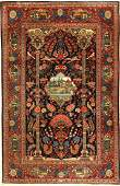 Keschan old Persia around 1930 wool approx 206