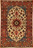 Fine Esfahan old Persia around 1930 wool approx