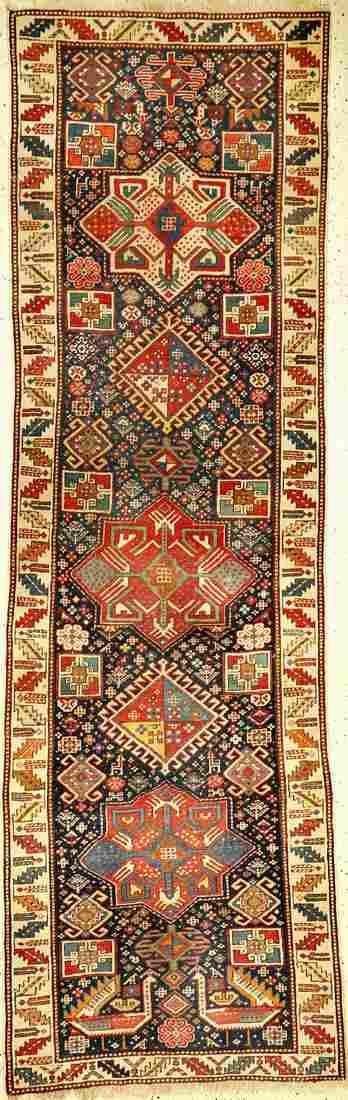 Akstafa Kasak antique, Eastern Caucasus, 19th century