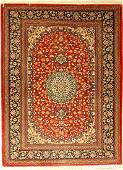 Qom fine, Persia, approx. 30 years, wool, approx. 146