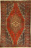 Mazlagan old, Persia, around 1920, wool on cotton