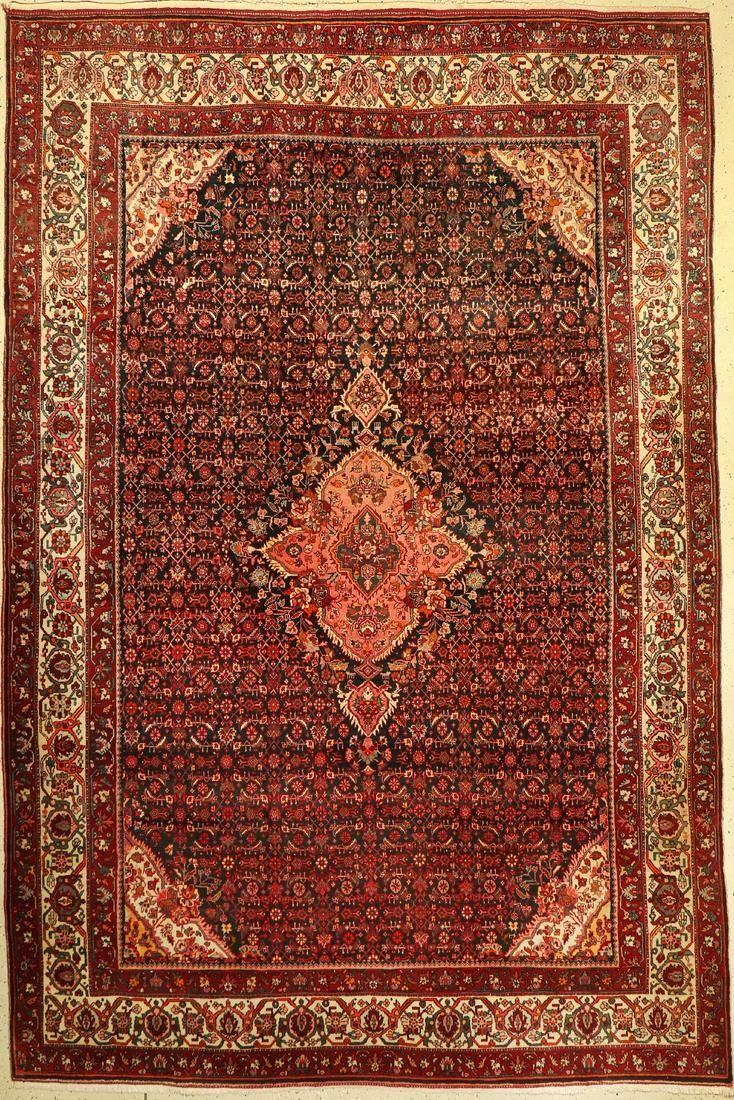 Bidjar, Persia, approx. 60 years, wool on cotton