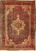 Bidjar antique, Persia, around 1920, wool on cotton