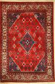 Djoshghan, Persia, approx. 50 years, wool on cotton