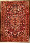 Nanaj, Persia, approx. 50 years, wool on cotton