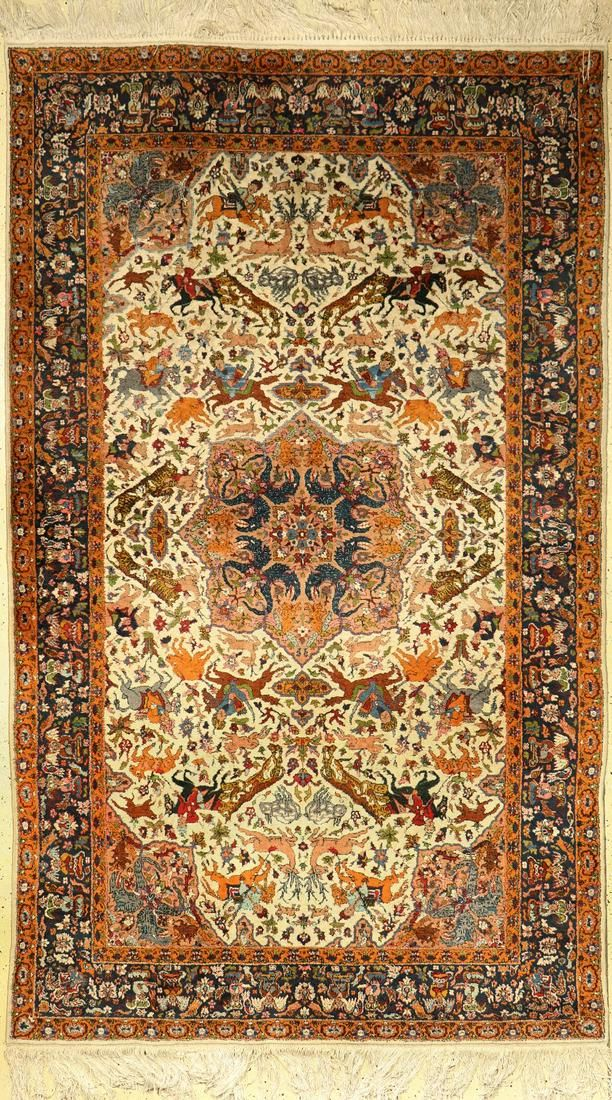 Indo, India, approx. 60 years, wool on cotton