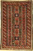 Antique karabagh, Caucasus, around 1900, wool on wool