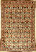 Tehran old Persia around 1930 wool on cotton
