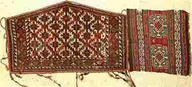 (2 lots) Mafrash and Asmalyk, Persia /