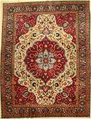 Tabriz old Persia around 1930 wool on cotton