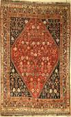 Gashgai Gaschguli old, Persia, around 1930, wool on