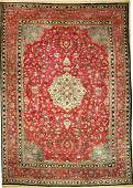 Rare Semnan antique Sig Persia around 1900 wool