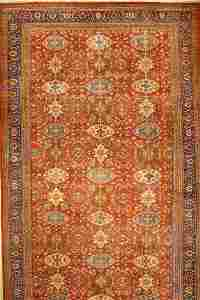 Large Mahal antique carpet, Persia, 19th century
