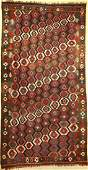 Veramin Kilim, Persia, around 1920, wool on wool