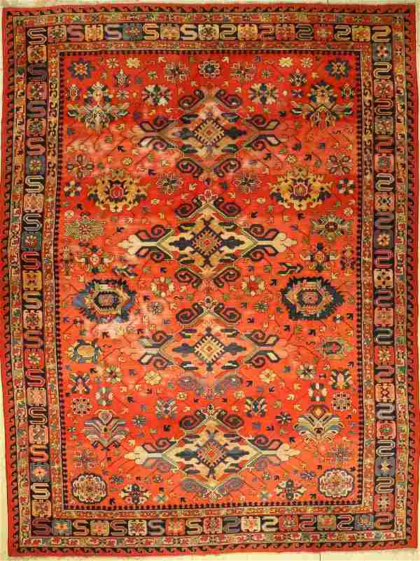 Tefzet old, Germany, around 1930, wool on cotton