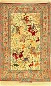 Very Fine Isfahan 'Seirafian' Rug 'Signed' (The