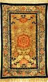 Fine & Rare Imperial Silk & Gold-Metal-Thread Beijing